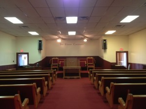 new church pews in Houston, TX