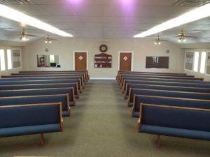 Baptist Church Medicine Lodge Kansas Church Pews
