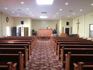 Church Pews in Brooklyn, NY