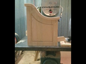 Church pew ends for shipping