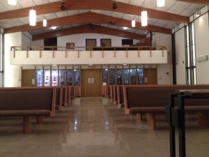 New Church Pews