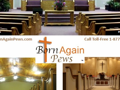 Download the Born Again Pews Catalog