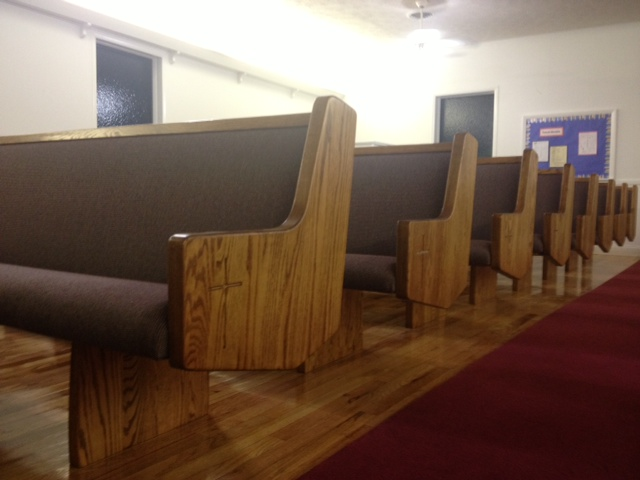 Church pews and hardwood floors at jacksonville for Hardwood floors jacksonville fl