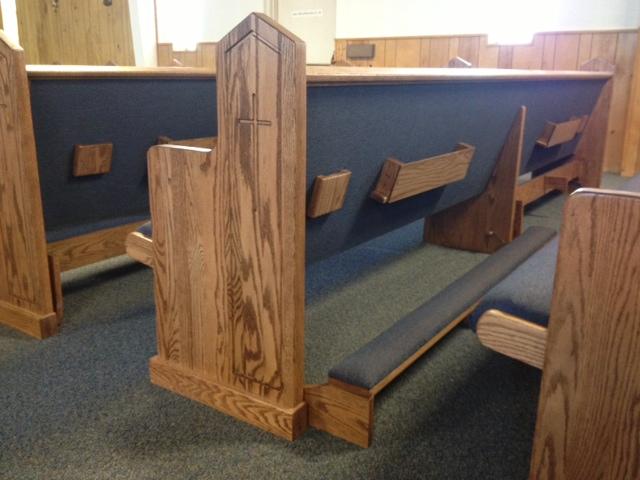 New Church Pews For A New Mexico Church Church Pews