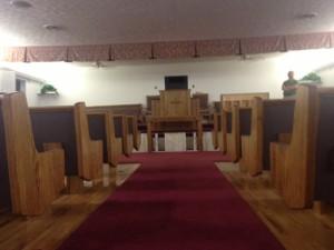 church-pews