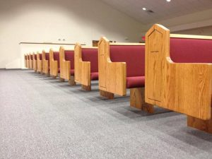 Salisaw, Oklahoma Church Pews