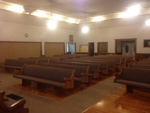 Schell City, MO Church Pews